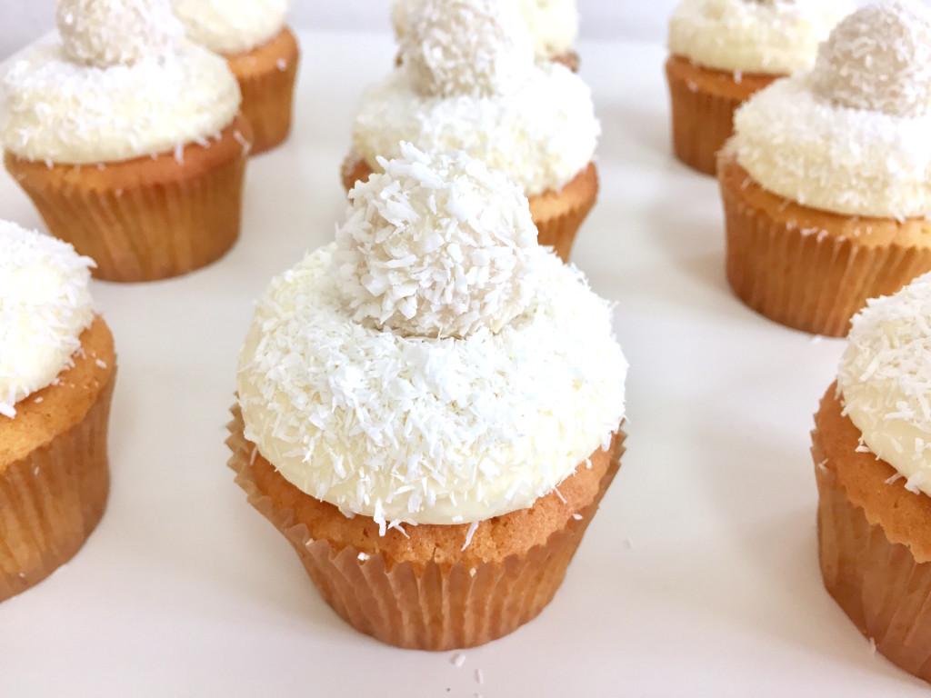 Kokosové cupcakes
