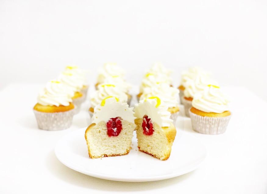 Andělské kokosové cupcakes