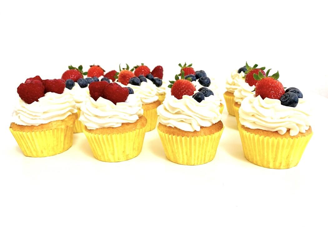 Citrónové cupcakes